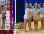 Cynthia y nuestras alevines en el Campeonato de España en edad escolar y Zonal de GimnasiaRítmica