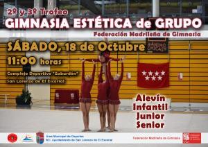 Cartel Trofeo Gimnasia Estética