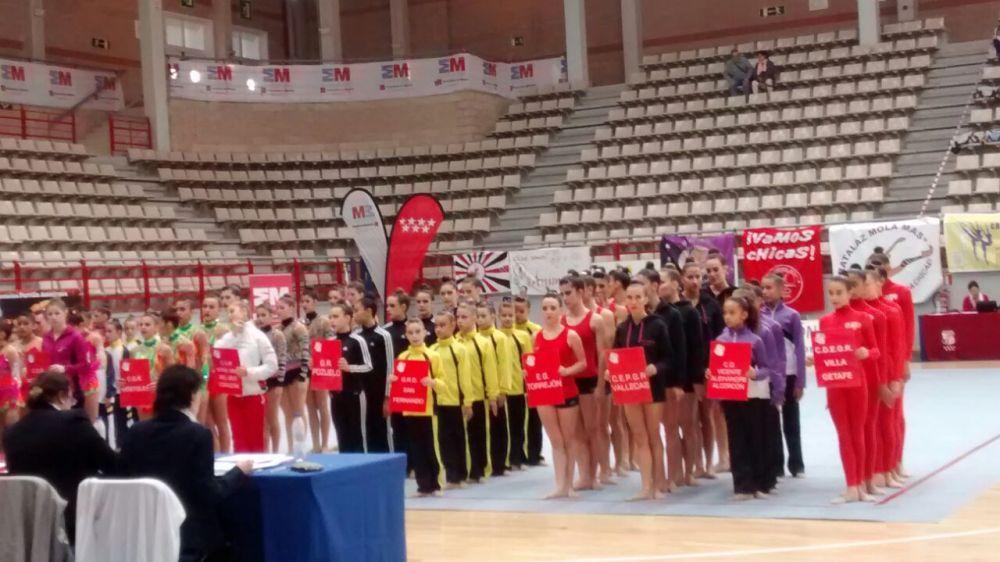 Pódium y clasificación para el Campeonato de España Absoluto de Gimnasia Rítmica (3/6)