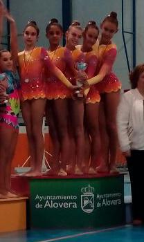 El Villa Getafe ganador del Torneo Gimnastas con Stylo (2/3)