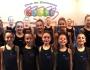 Debut en la competición de las gimnastas del VillaGetafe