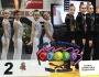 Oro y plata en la primera Liga Federaciones de Gimnasia Estética deGrupo